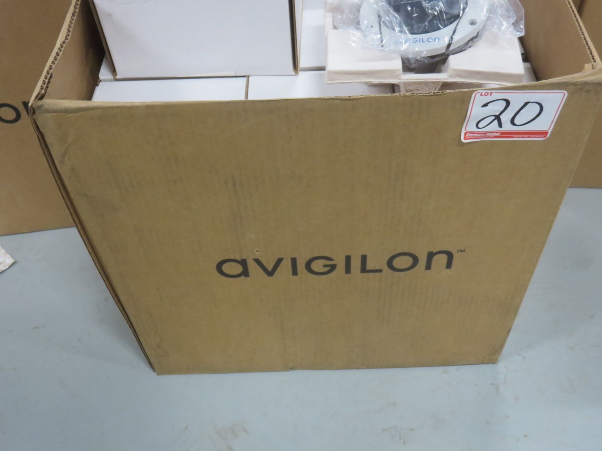 Lot 20A - UNITS - NEW - AVIGILON MODEL (1.3C-H4SL-DO1-IR) DOME SECURITY CAMERAS WITH LIGHT-CATCHER