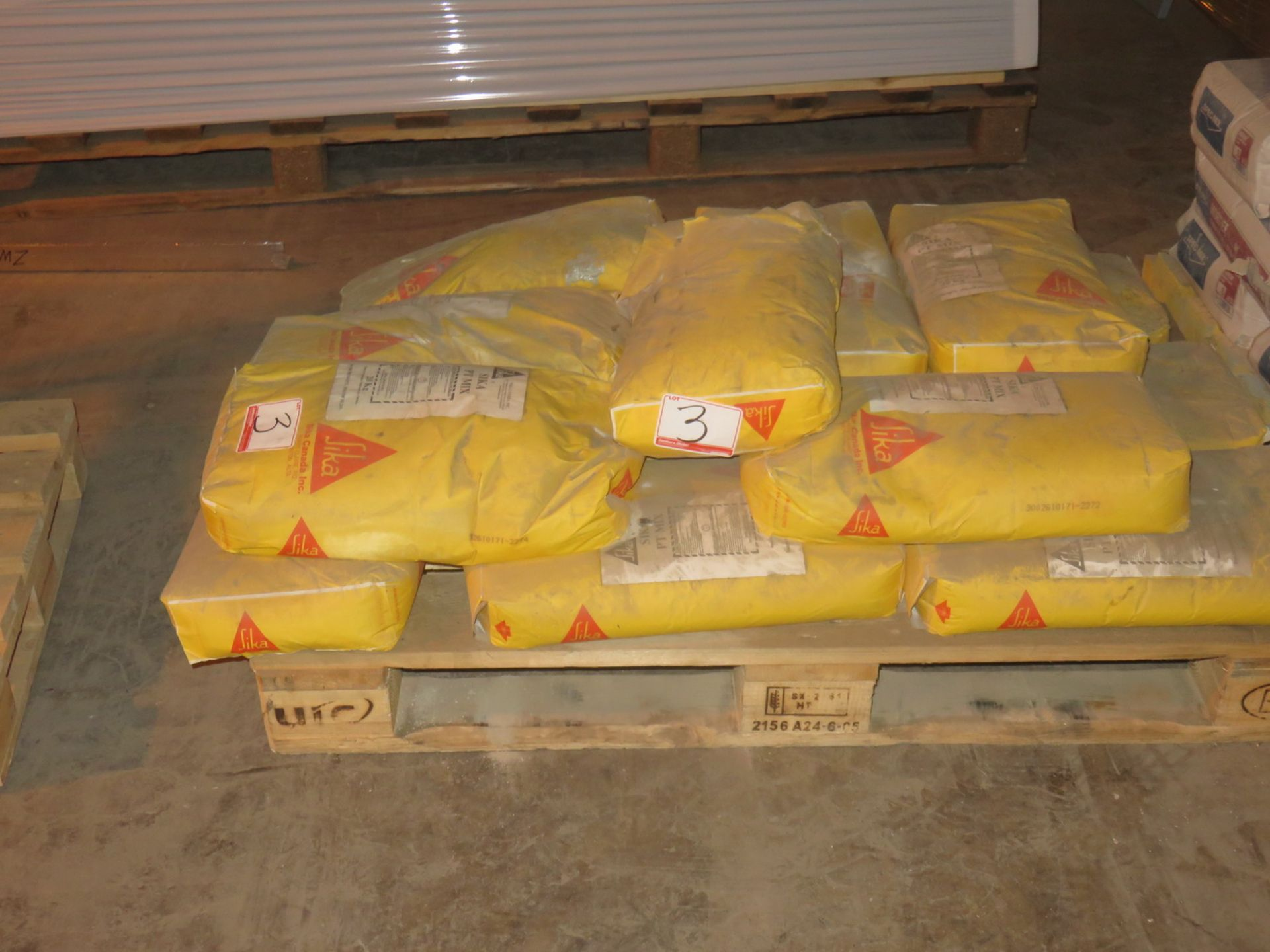 Lot 3 - BAGS - SIKA TTMIX REPAIR MORTAR (20 KG/BAG)
