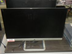 "UNITS - HP HSTND 9141-N 21.5"" LCD MONITORS (MISSING 1 POWER CORD)"