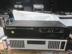 LOT - LAB GRUPPEN C20 : 8X, 8 CHANNEL AMPLIFIER S/N 00186227V36/12 & LECTROSONICS AM16 AUTOMATIC