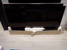 "SHARP LC-80UQ17U FULL HD 80"" AQUOS QUATTRON + LIQUID CRYSTAL LED SMART 3D TV W/ REMOTE"