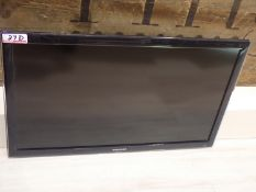 """SAMSUNG 32"""" LED TV (SMALL SCRATCH ON SCREEN)"""