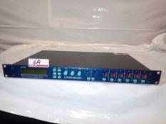 TURBOSOUND LMS-D6 DIGITAL LOUD SPEAKER MANAGEMENT SYSTEM