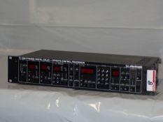 TC ELECTRONICS TC2290 DIGITAL DELAY + EFFECTS CONTROL PROCESSOR