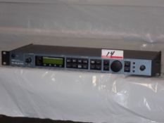 TC HELICON VOICE WORKS VOCAL EFFECTS PROCESSOR