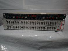 LOT - KLARK-TEKNIK DN410 DUAL PARAMETRIC EQ (POPS & CRACKS) & BSS DPR402 COMPRESSOR DE-ESSER