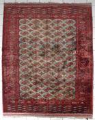 Persischer Turkman in Seide, ca. 1960-70