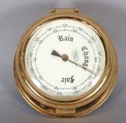 Wempe, Barometer, Messing, 2. H. 20. Jh.