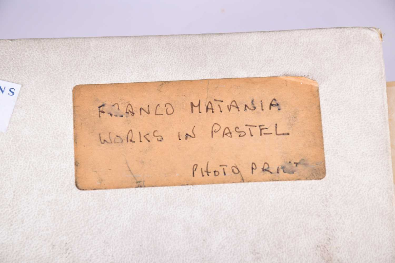 Lot 45 - The photographic archive of the artist Franco Matania (1922-2006), comprising seven carefully