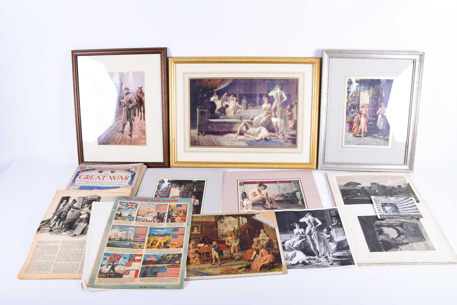 Lot 54 - A quantity of archive material relating to the life and work of celebrated artist Fortunino