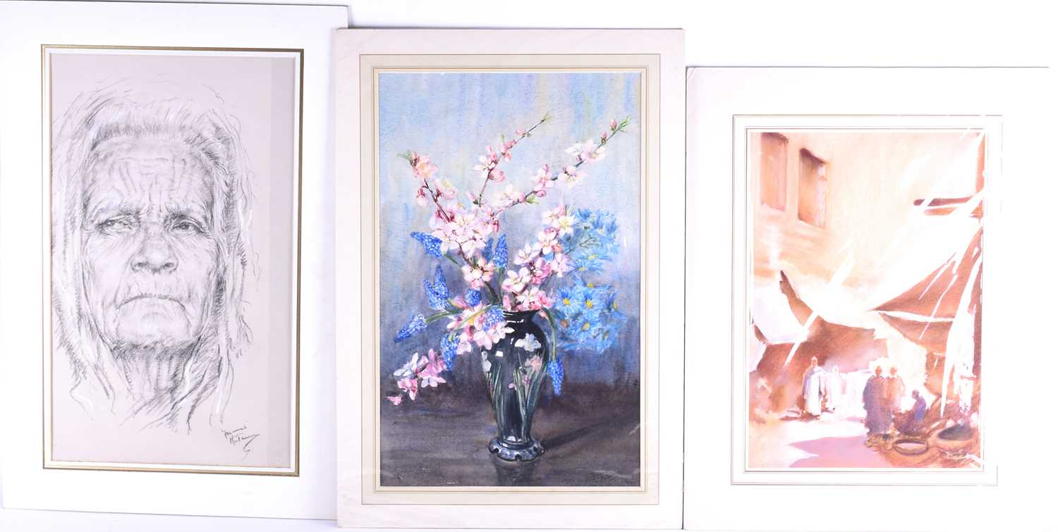 Lot 30 - Franco Matania (1922-2006) Italian/British, a group of finished pastel and mix-media sketches