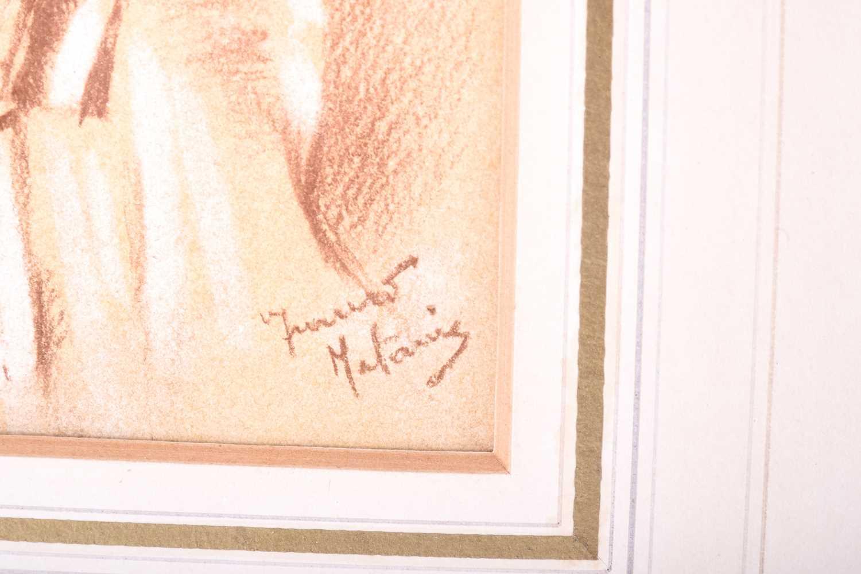 Lot 55 - Franco Matania (1922-2006) Italian/British, three pastel studies of female nudes, each framed and