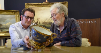 Lot Highlight |David Battie Discusses a Chinese Powder Blue vase with Dawsons Asian Art