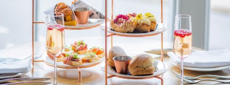 Voucher for Afternoon Tea with Prosecco for 4 at The Swan, Southwold