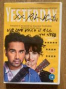 """A DVD signed by Richard Curtis of his hit movie """"Yesterday"""". UK Mainland tracked postage £5. Donated"""