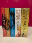 The Red Rising Series Collection - 5 Books Set By Pierce Brown (Red Rising, Golden Son, Morning