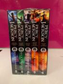 Percy Jackson & The Olympians by Rick Riordan 5 Children Books Collection Box Set (The Lightning