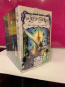 """Chris Colfer - The Land of Stories series complete collection box set (books 1-6) """"The Wishing"""