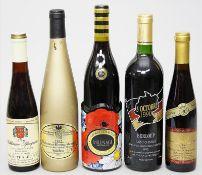 5 Flaschen Wein.