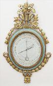 "Louis XVI.-Wandbarometer ""Carcano"", (Frankreich, um 1776)."