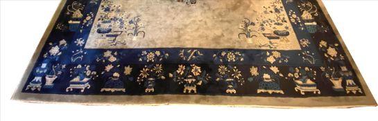 Großer China-Teppich (20er Jahre), ca. 500x 400 cm