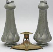 Paar Jugendstil-Vasen.