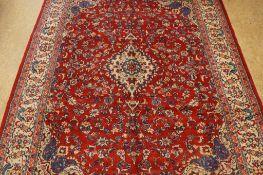 Tapijt, Esfahan, 370 x 285 cm.