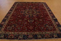 Tapijt, Tabriz 370 x 267 cm.