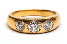 18krt. Gouden ring
