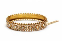 14krt. Gouden stijve armband