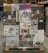 1 x Mixed pallet of 58 items, mixed brands RAW returns Approx RRP £4014.51