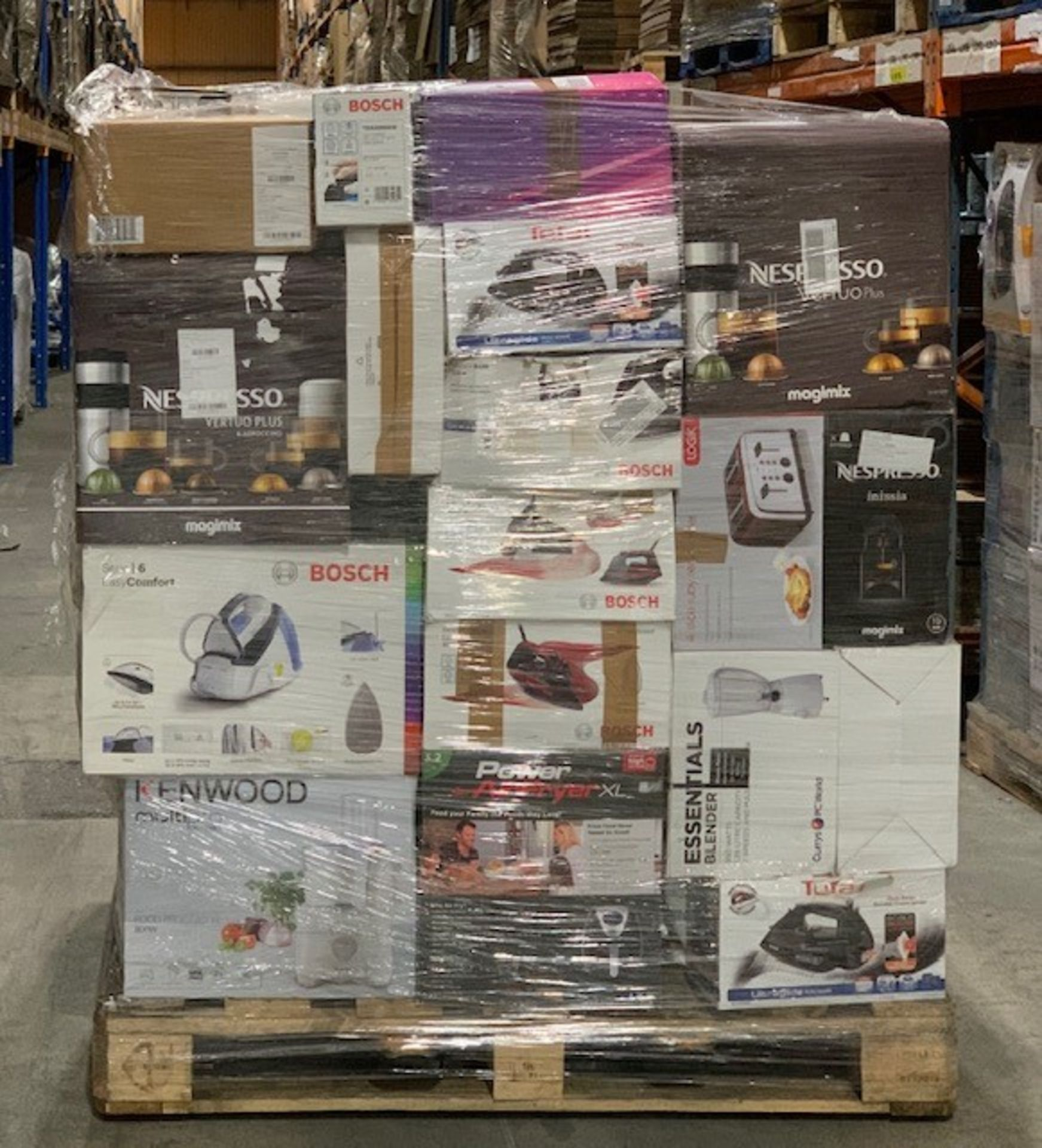 Lot 6 - 1 x Mixed pallet of 58 items, mixed brands RAW returns Approx RRP £4014.51