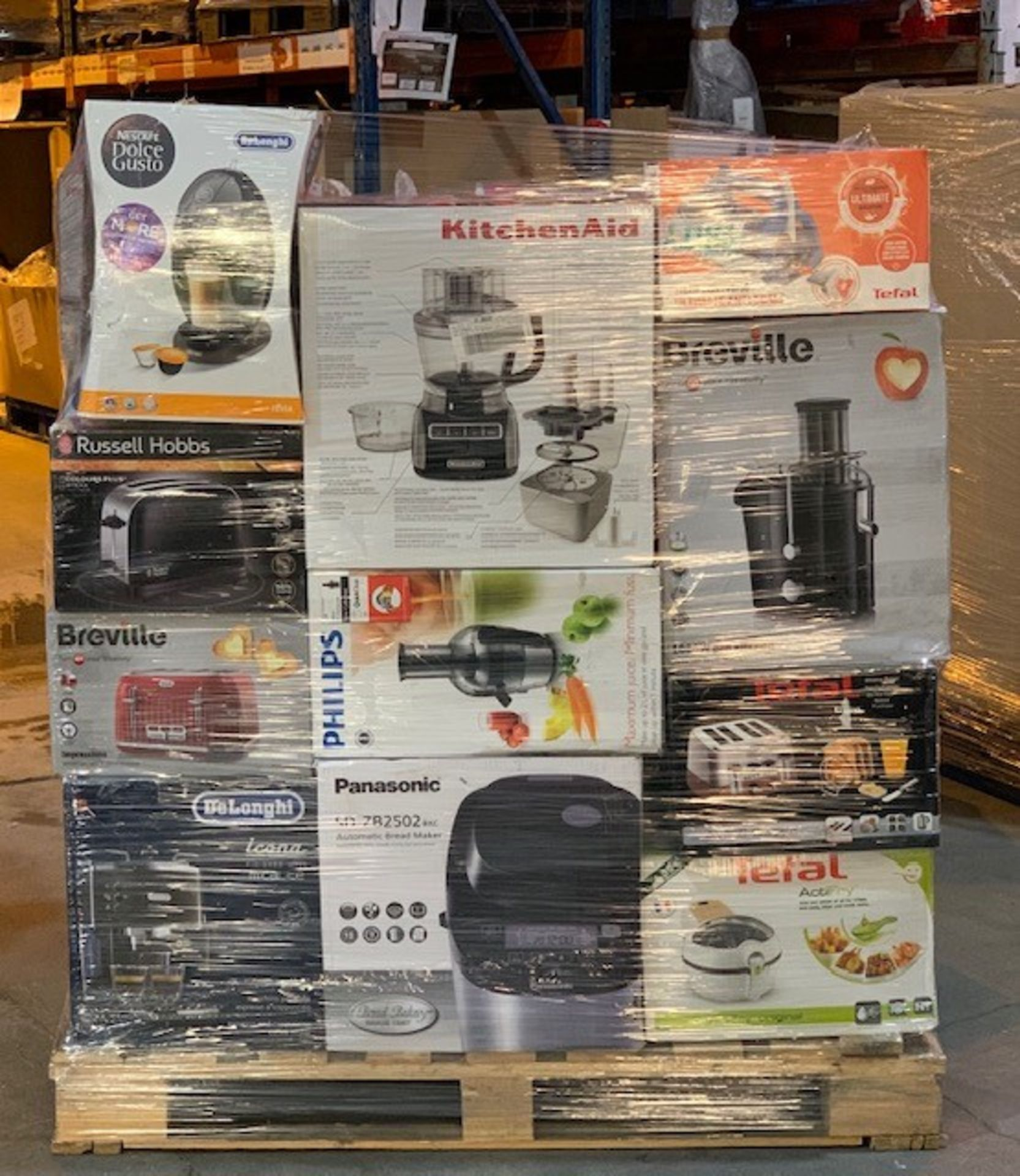 Lot 4 - 1 x Mixed pallet of 81 items, mixed brands RAW return items Approx RRP £5159.10