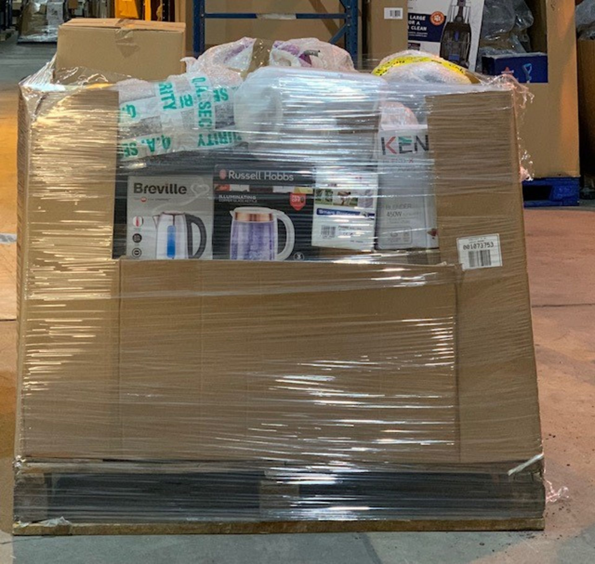 Lot 9 - 1 x Mixed pallet of 35 Branded RAW returns Approx RRP £3691.45