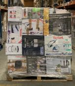 1 x Mixed pallet of 64 items, mixed brands RAW returns Approx RRP £4259.94