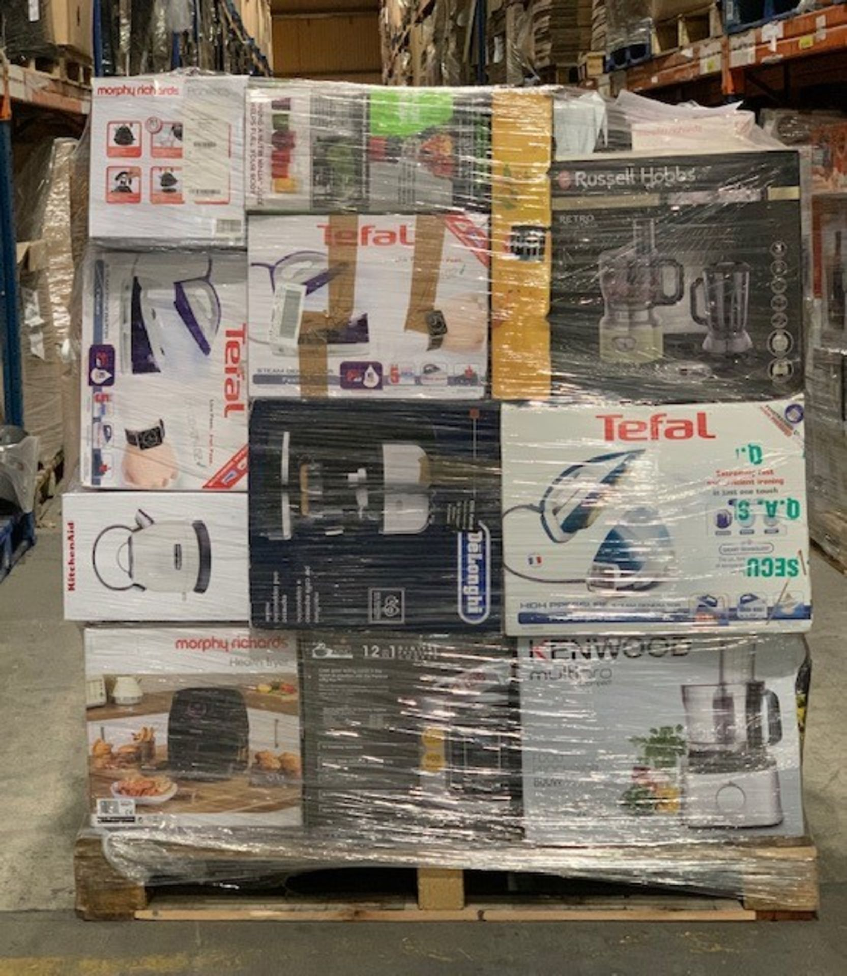 Lot 5 - 1 x Mixed pallet of 64 items, mixed brands RAW returns Approx RRP £4259.94