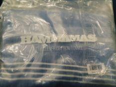 15 Hammamas Ctn Towel - Bl&Wh. RRP £300