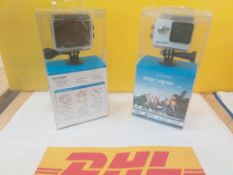 5 Kit Vision Action Camera waterproof up to 30m. RRP £228