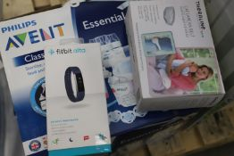 Mixed lot - 52 items - Brands include Fitbit & Leapfrog RRP £2986.94
