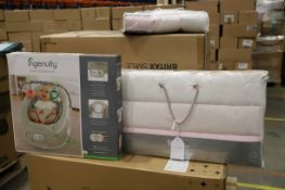 Mixed lot - 7 items - Brands include Silver cross & Britax RRP £1789.34
