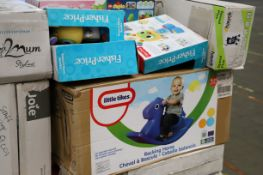 Mixed lot - 22 items - Brands include Lego & Maclaren RRP £1377.84