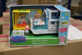 33 x Peppa Pig mobile Playset. RRP £660.00