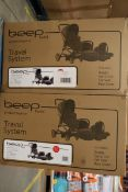 5 x Beep twist travel system, RRP £1500.00