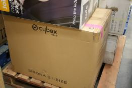 Mixed Lot 6 items - Brands include Joie & Cybex, RRP £777.97