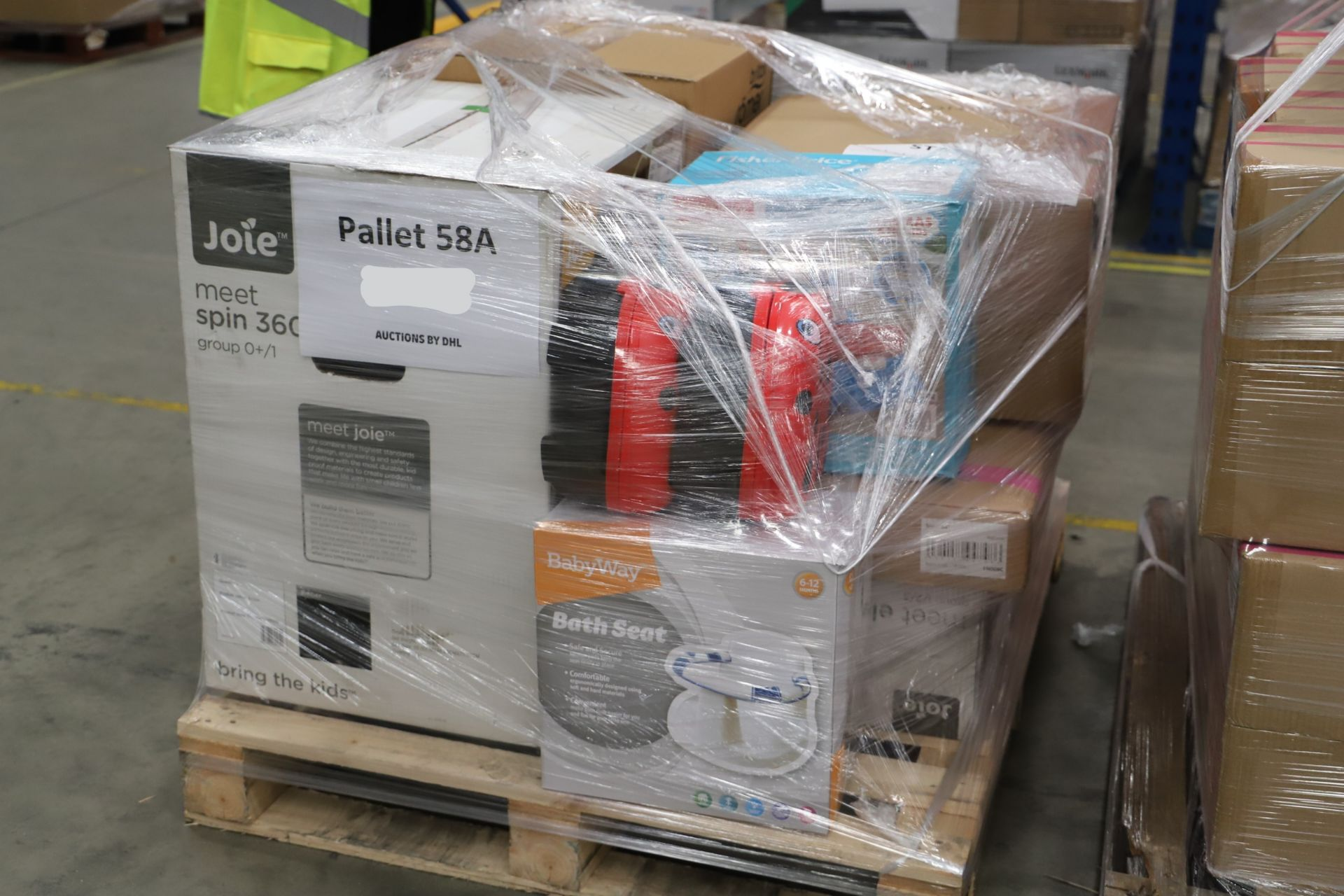 Lot 7 - *No Reserve* Mixed Lot 10 items - Brands include Britax & Chicco. RRP £838.00