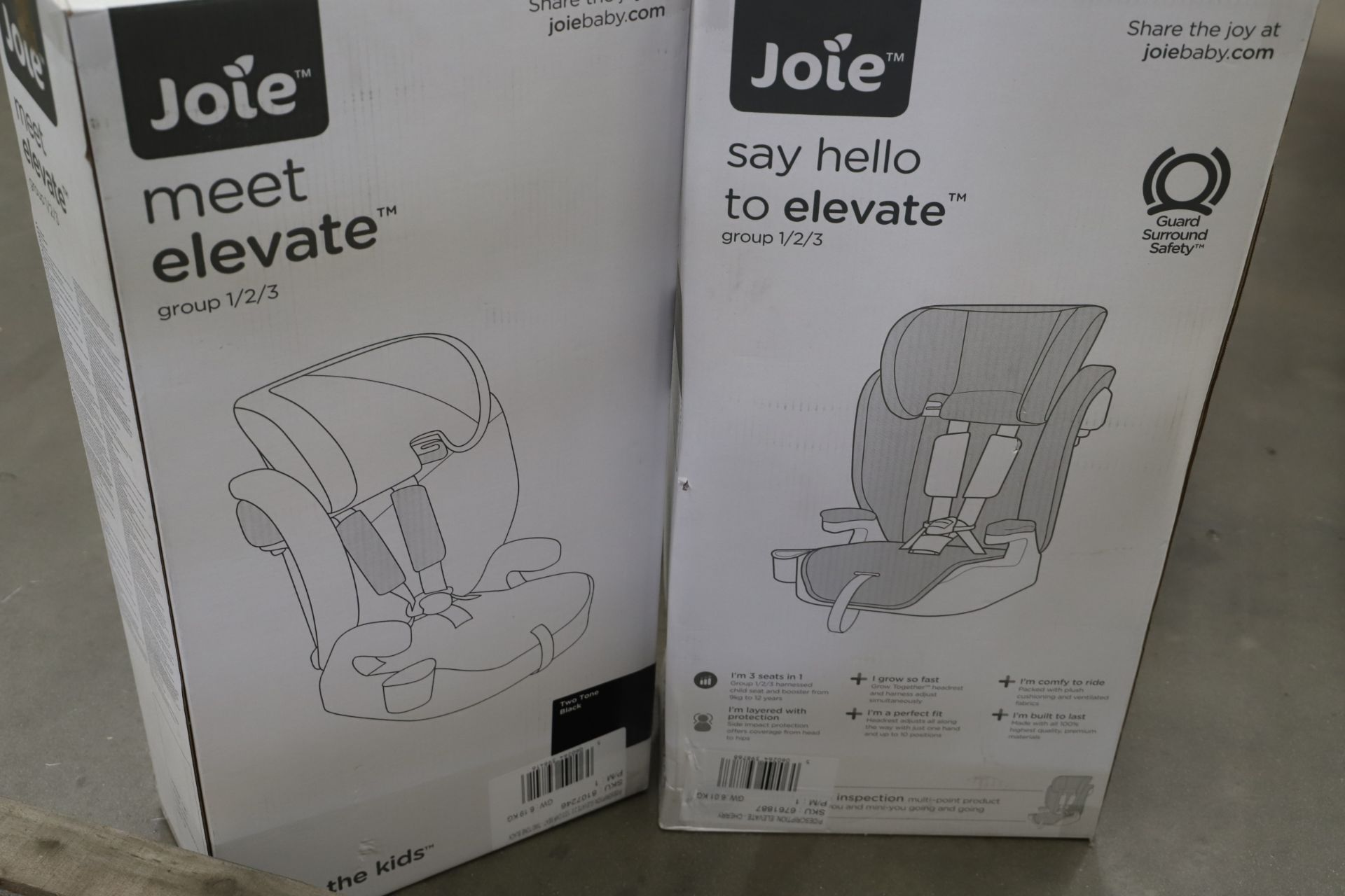 Lot 2 - *No Reserve* Mixed Lot 9 items - Brands include Britax & Joie, RRP £868.95