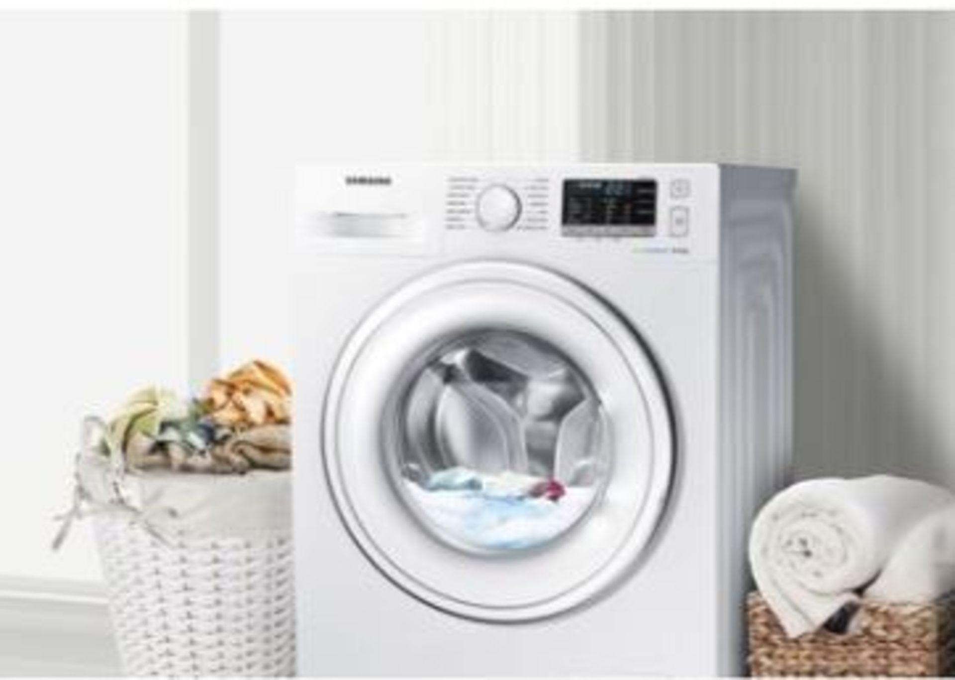 Pallet of 1 Samsung Premium Washing machine. Latest selling price £339* - Image 3 of 8