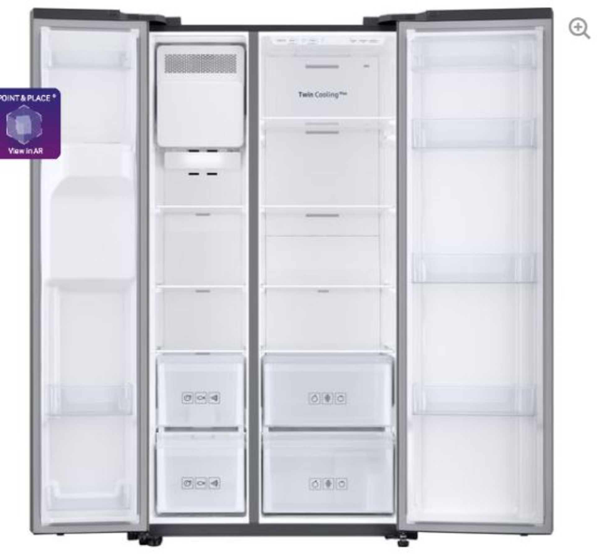 Pallet of 1 Samsung Water & Ice Fridge freezer. Latest selling price £1,299.99* - Image 2 of 8