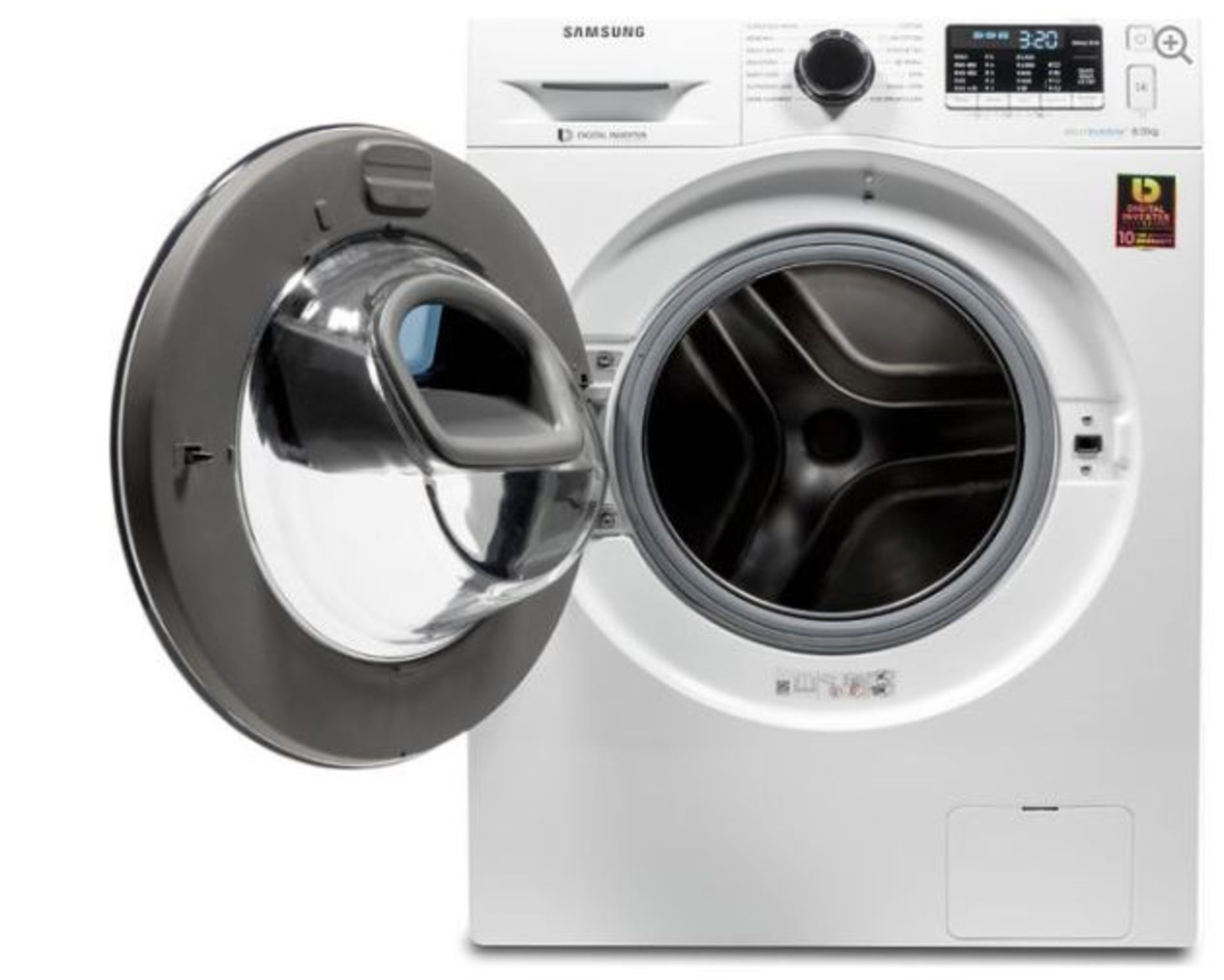 Pallet of 3 Samsung Premium Washing machines. Total Latest selling price £1,087* - Image 2 of 10