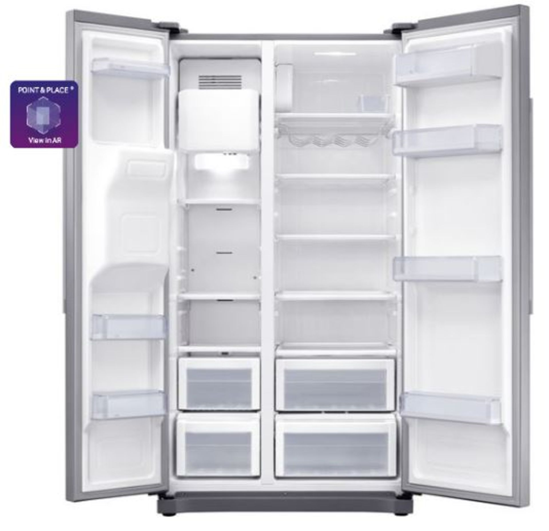 Pallet of 1 Samsung Water & Ice Fridge freezer. Latest selling price £929.99* - Image 3 of 9